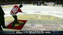 Eamonn Walker plays Shoot the Puck in Chicago