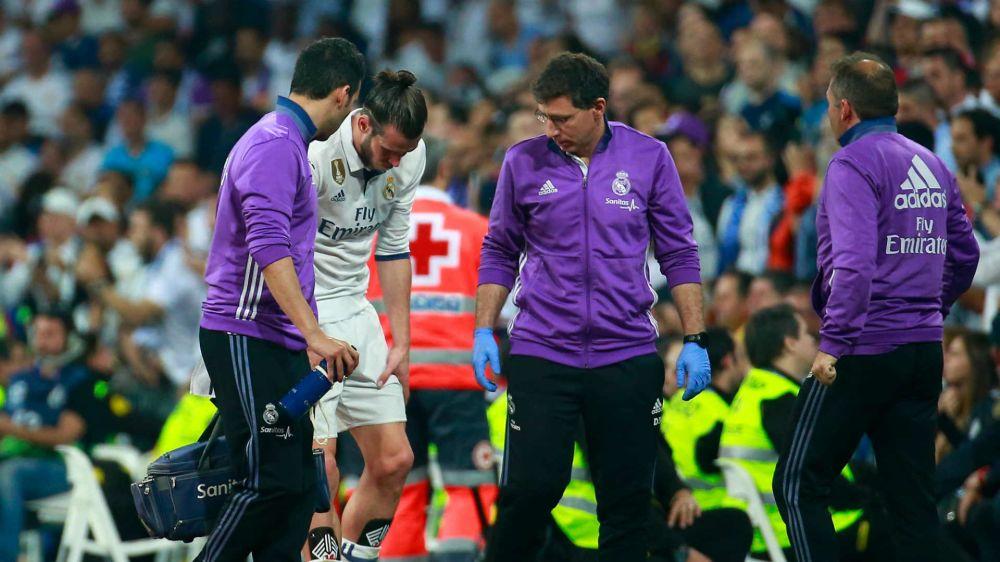 Gareth Bale fue titular pese a completar sólo tres entrenamientos tras caer lesionado