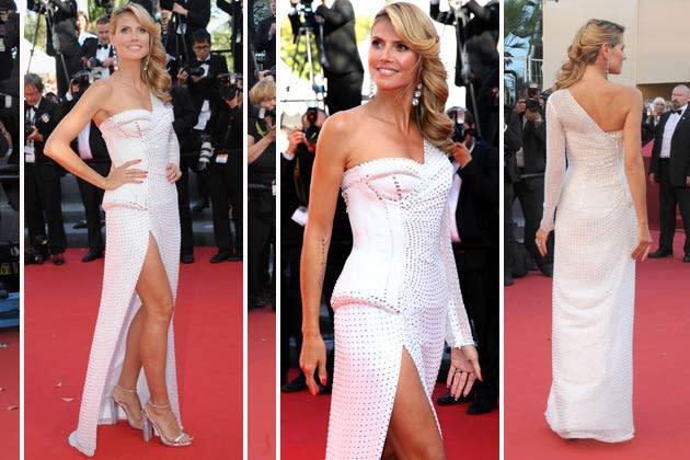Heidi Klum zeigt ihre sexy Beine in Cannes