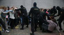 'Masked men' detain Belarus opposition lawyer