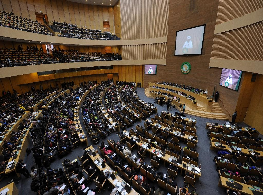 African Union leaders meet in Ethiopia for a difficult summit likely to expose regional divisions as they debate whether to allow Morocco to rejoin the bloc (AFP Photo/TONY KARUMBA)