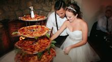 Not All Heroes Wear Capes: This Couple Served Pizza Instead of Cake at Their Wedding