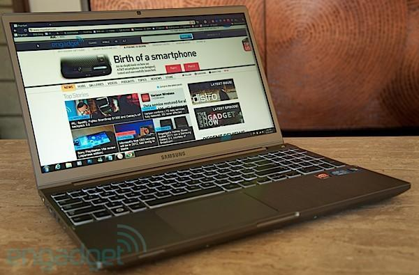 Samsung Series 7 Chronos review