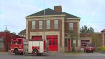 Thieves target fire station on Detroit's west side