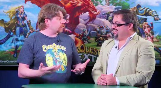 Today's EverQuest Next roundtable video covers SOE Live's EQN plans