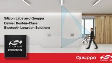 Silicon Labs and Quuppa Team Up to Deliver Best-in-Class Bluetooth Location Solution