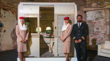 Das ist das neue Glitzerflugzeug von Emirates – doch der Schein trügt