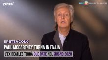 Paul McCartney torna in Italia