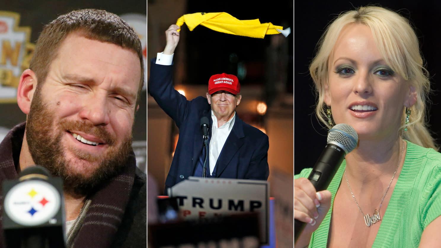 Can Ben Roethlisberger help corroborate porn star's affair with Donald Trump?