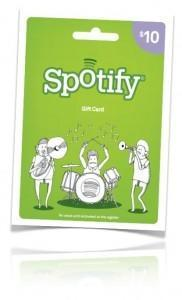 Spotify gift cards now available at Target in $10, $30 and $60 values