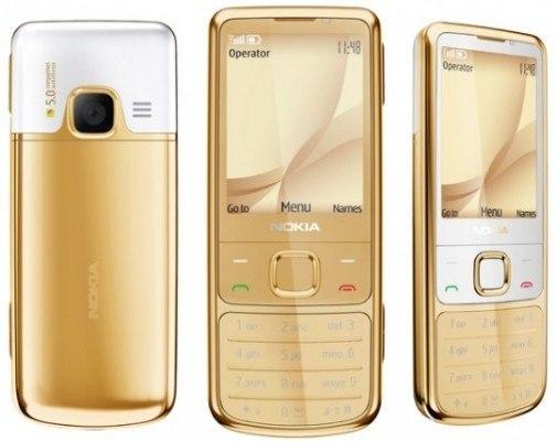 Nokia 6700 Classic Gold Edition is expensive, gold plated