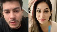 """Após """"divisão de bens"""", Mayra Cardi critica Arthur Aguiar: """"Sou contra roubo"""""""