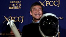 Japanese billionaire on search for female 'life partner' for moon trip