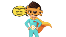 Children's Charity Creates Bitcoin Superhero to Attract Crypto Donations