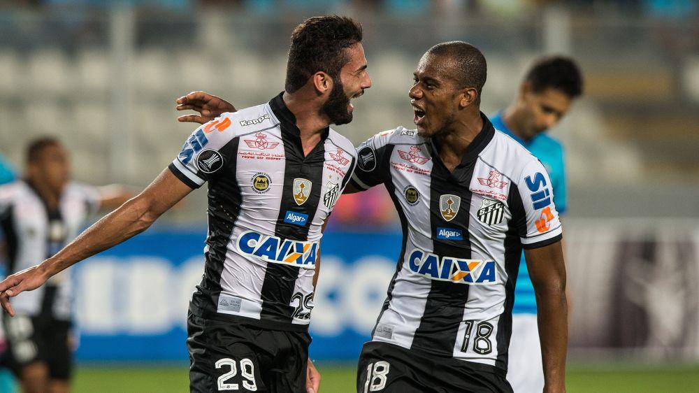 Copete Thiago Maia Sporting Cristal Santos Copa Libertadores 09032017
