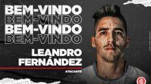 Gringo na área! Leandro Fernández é mais um reforço do Internacional