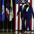 Joe Biden and Kamala Harris Twin in Power Suits For Debut of Historic Presidential Ticket