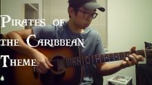 Amazing acoustic cover of 'Pirates Of The Caribbean' theme song