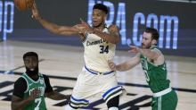 Basket - NBA - NBA : Milwaukee bat Boston, Antetokounmpo domine les débats
