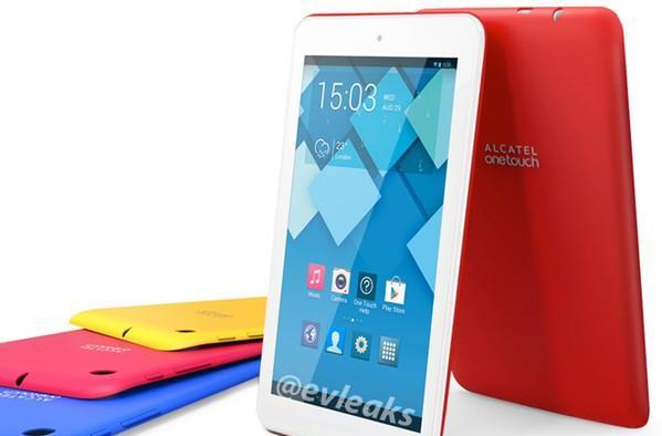 Alcatel's 7-inch OneTouch Pop tablets are colorful, and subject to leaks