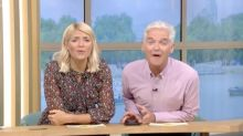Phillip Schofield caught using his mobile phone during technical glitch on 'This Morning'
