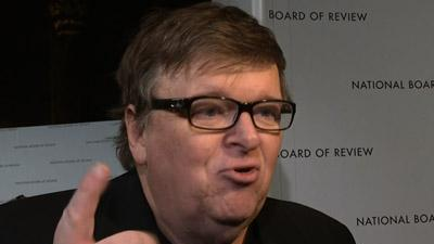 Michael Moore Comments on Gun Control
