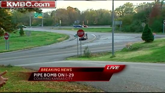 Police detonate 2 pipe bombs after traffic stop