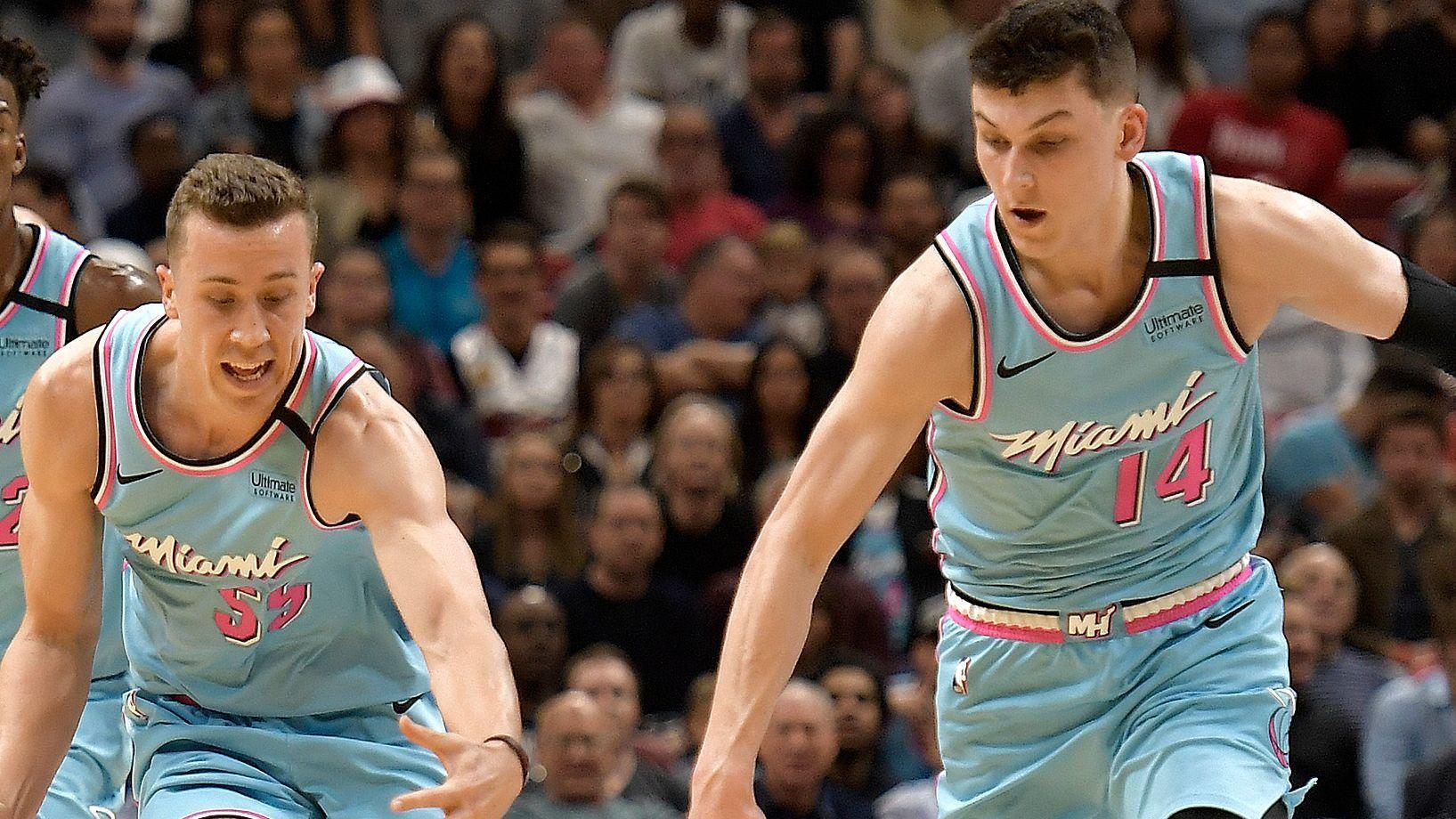 Heat's Tyler Herro on Pacers sizing him up, 'It's no secret who they're going at'