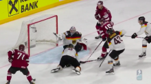 Germany's Philipp Grubauer makes incredible stick save at IIHF Worlds (Video)