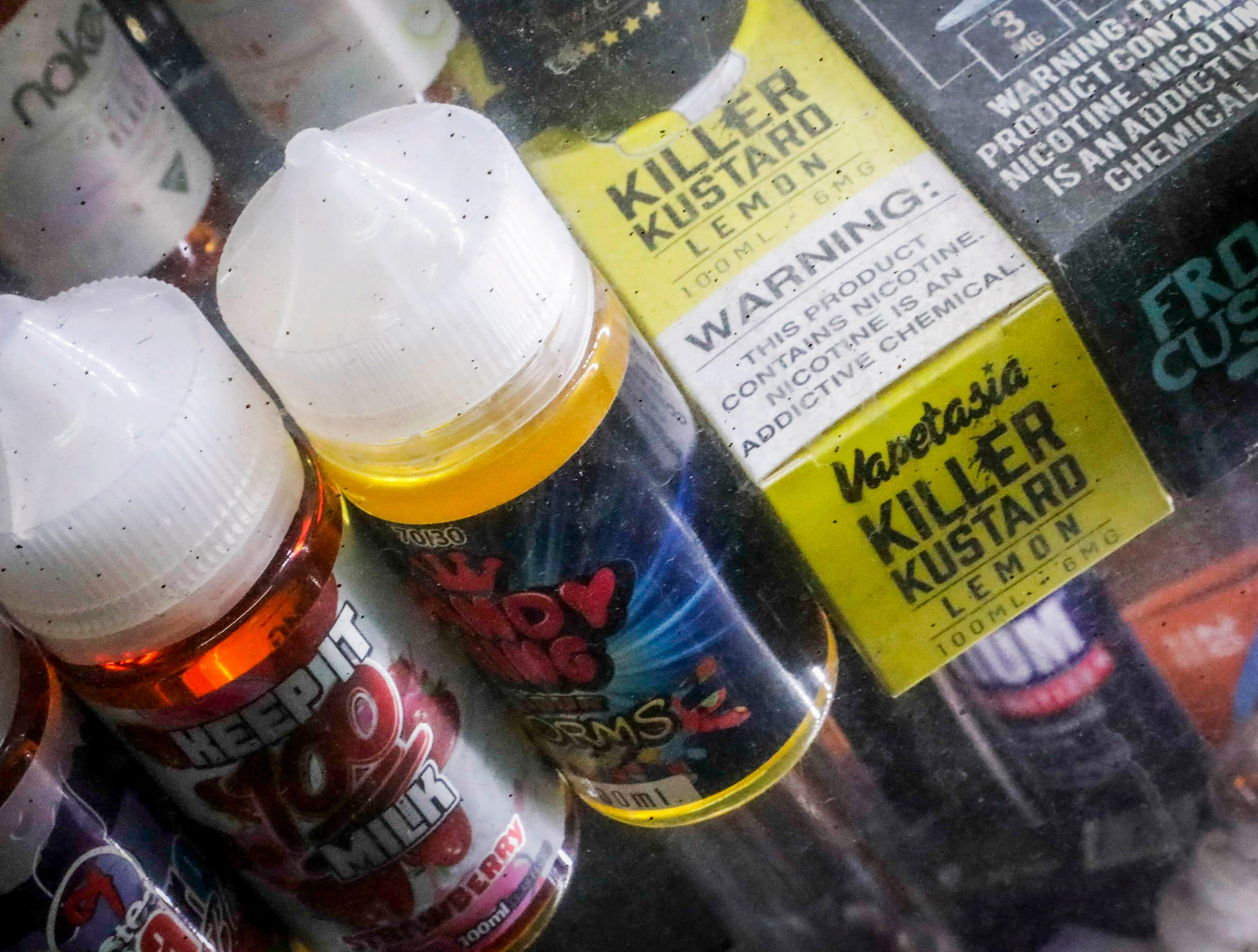 Judge temporarily halts flavored vape ban in Michigan, cites harm to businesses