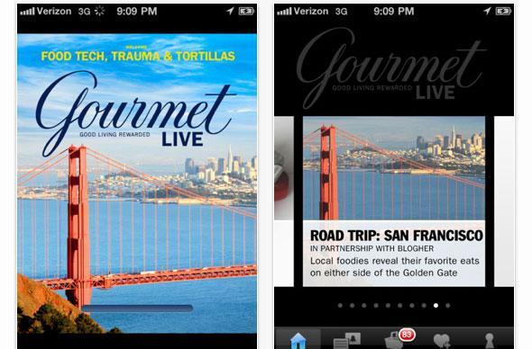 Gourmet Live now available for iPhone