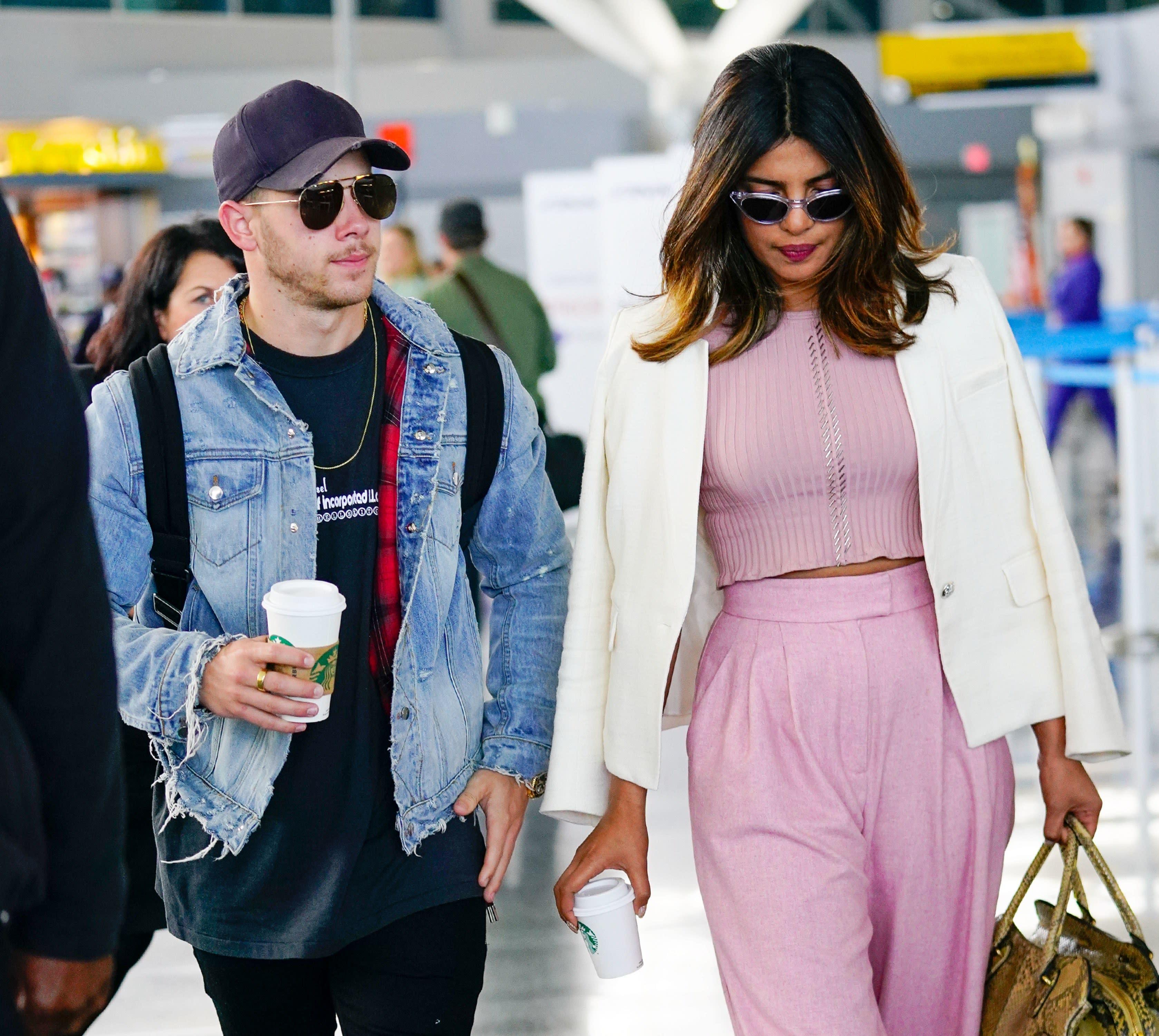 Priyanka Chopra And Nick Jonas Have Arrived In Paris For