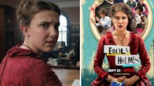 Glaring historical inaccuracy spotted on poster for Netflix's 'Enola Holmes'