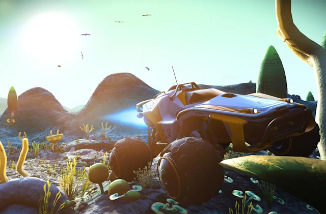 'No Man's Sky' update adds more than just ground vehicles