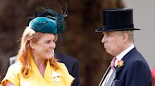 Fergie and Prince Andrew both arrive in Scotland fuelling romance rumours