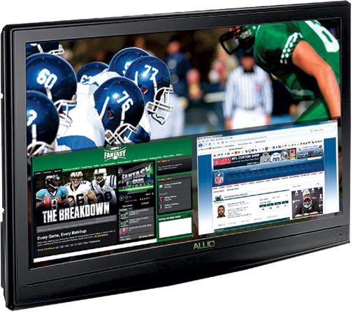 Silicon Mountain's Allio: 42-inch HDTV with built-in PC / Blu-ray player