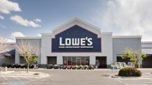 Lowe's surges on earnings