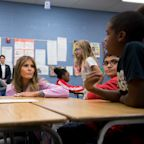 'Choose kindness,' Melania Trump tells US schoolkids as part of heranti-bullying campaign