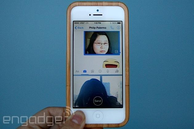 Facebook Messenger now lets you share videos and photos in an instant
