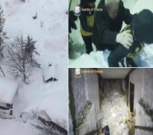 Rescuers Fear The Worst After Massive Avalanche Buries Dozens In Italy Hotel