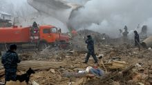 Kyrgyzstan searches for more victims at plane crash site