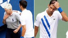 Novak Djokovic's classy act after 'disgusting' fan attack on line judge