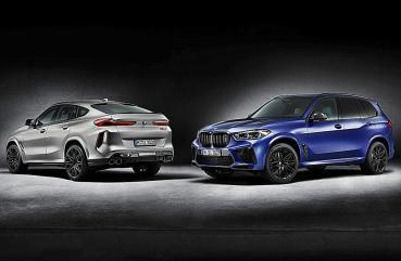 BMW X5M 和X6M Competition First Edition首發限量版開賣,但過不了台灣法規