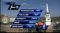 Temps to dip into 20s tonight