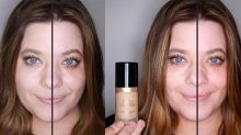 The 7 best foundations for oily skin, tested on half a face