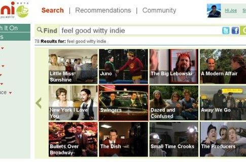 Jinni Taste Engine for TV and movies envisioned as a Google TV app