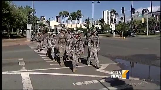 Ruck March honors veterans and current military members