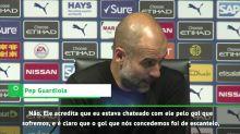 Premier League: Guardiola minimiza discussão com Agüero: 'o amo muito'