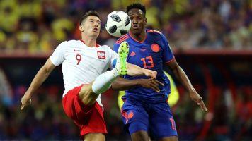 Polonia-Colombia 0-3: Tris dei Cafeteros, polacchi eliminati