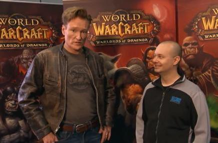 Conan O'Brien tries to understand World of Warcraft